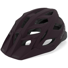 Giro Hex Fietshelm, matte dusty purple/charcoal